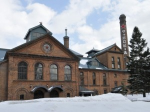 Japan Reise Biergarten Sapporo