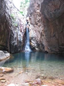 Wasserfall in der El Questro Schlucht an der Westküste