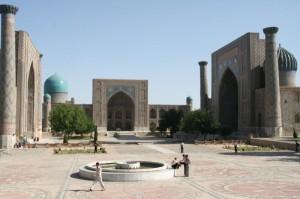 Samarkand Registan Platz