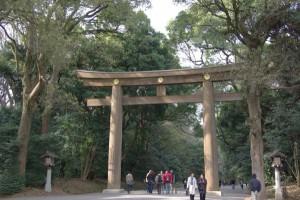 Sehenswürdigkeit Tokyo Meji Schrein