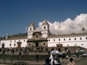 Altstadt Quito Ecuador