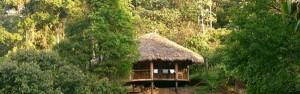 Las Casacadas Hütte