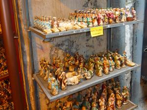 Die berühmten Neapolitanischen Krippenfiguren