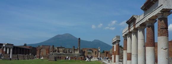 Pompeji im Schatten des Vesuv