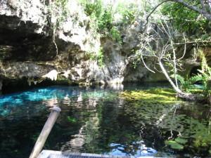 Grotte Sac Actún oder Gran Cenote