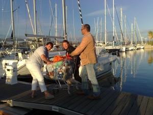 Singleurlaub auf dem Segelboot