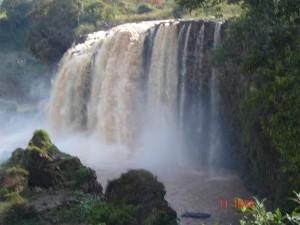 Wasserfälle Blauer Nil