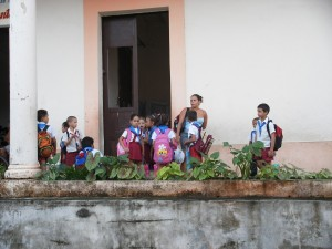 Schulklasse in Havanna