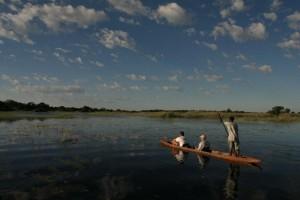 Bootsfahrt Okavango Delta