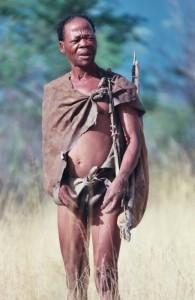 Buschmann Kalahari