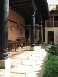 Innenhof Hotel Casa Vieja, San Cristobal de las Casas