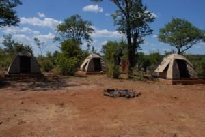 Das Zeltcamp bei der IAPF