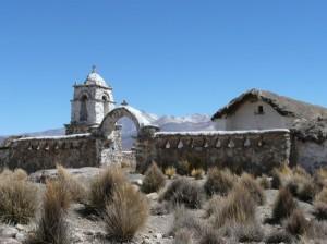 Kirche bei Lagunas
