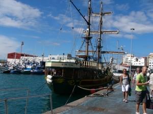 Der Hafen von El Medano