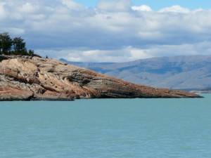 Lago Argentino im argentinischen Patagonien