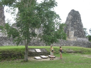 Mayastätte Xpujil