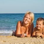 Sie sind Single mit Kind und wollen in den Ferien verreisen?