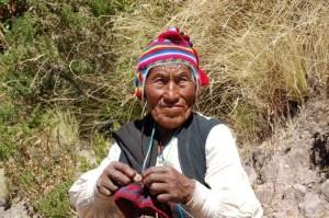 Einheimischer auf der Isla Taquile