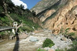 In der Schlucht, Colca canyon unter Cabanaconde