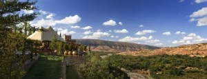 Exklusive Marokko Reise - Kasbah Tamadot - Ausblick