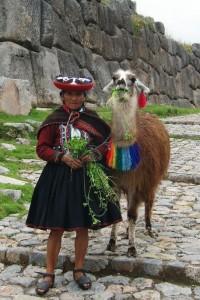 Fugenlose Inkamauer in Cusco