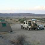 Namibia Reise - Camping