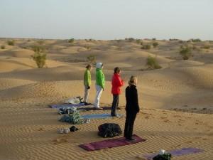 Singlereise in die Wüste