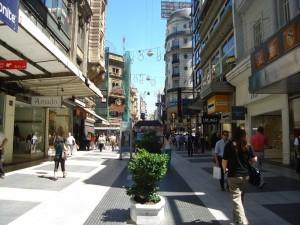 berühmte Avenida Florida in Buenos Aires