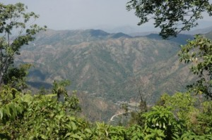 Kuba Urlaub, Sierra Maestra, Blick auf die Berge