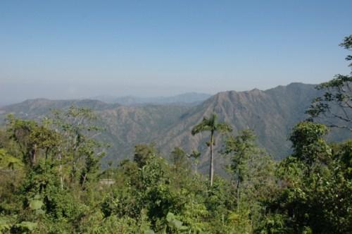 Kuba Urlaub, Sierra Maestra, Blick vom Alto del Naranjo