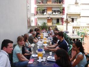 Studenten der Sprachschule in Buenos Aires