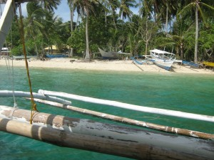 Palawan Inselkreuzfahrt Strand