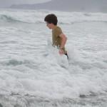 Für Alpenzwerge ist jede Welle ein Abenteuer