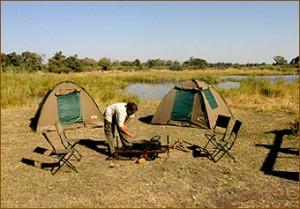 Zeltcamp auf unseren Sambia Rundreisen