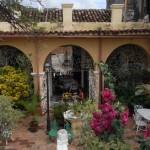 Historische Villa mit spanischem Restaurant und typischem Innenhof