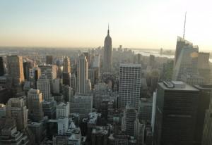 Blick auf das Empire State Building - Manhattan