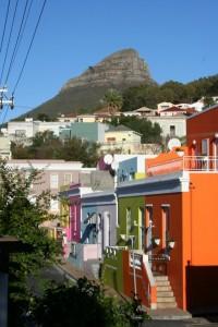 Farbenfrohe Häuser des Malaienviertels