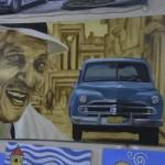 Lebendige spanisch-kubanische Malerei