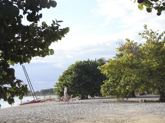 Ausruhen am Strand
