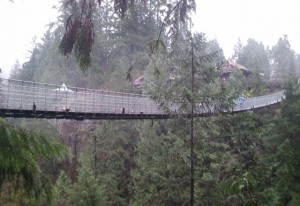 Capilano Suspension Bridge in Nord Vancouver