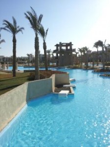 Pool Lagune im Crowne Plaza Port Ghalib