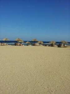 Hotelstrand Crowne Plaza in Port Ghalib