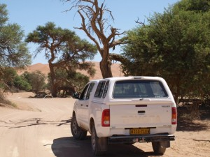 Mietwagenreise durch Namibia