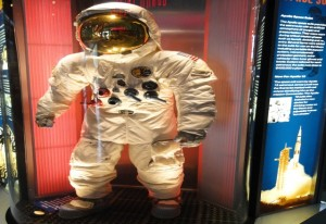 Astronaut im Kennedy Space Center Florida