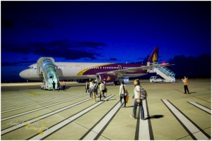 die kambodschanische Fluglinie