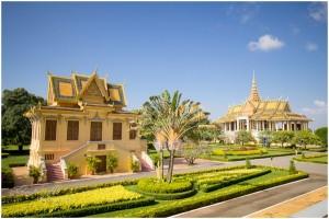Prunkbauten des Königspalastes
