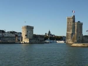 Die bekannten Türme in La Rochelle