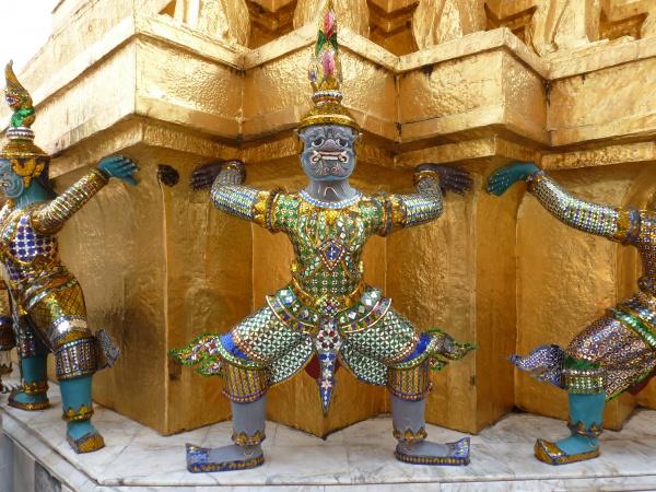 Tempelwächter Bangkok