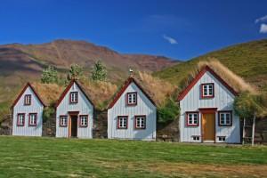 Torfgehöft Laufás - Nord-Island