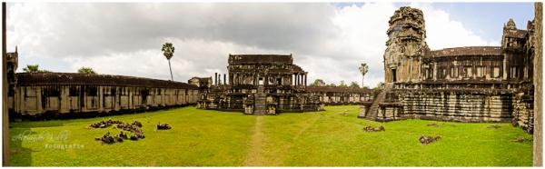 Panorama-Foto aus mehreren Aufnahmen.